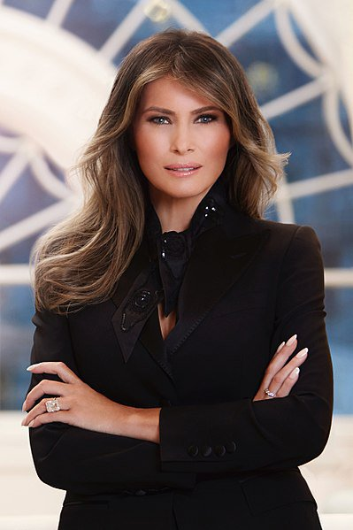 399px-Melania_Trump_Official_Portrait