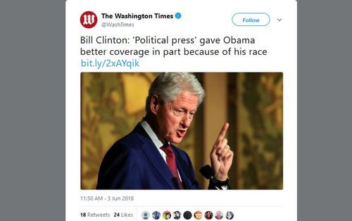 Billclintonracist