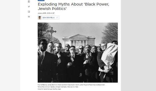 Jewish Self Awareness Historian Marc Dollingers Book Black Power