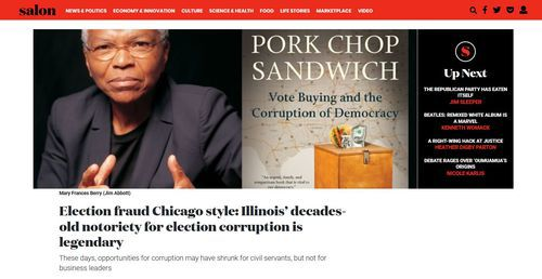 Vote Counting, Cook County-Style | Blog Posts | VDARE com