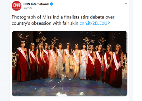 Not Much Human Biodiversity in Miss India Beauty Pageant