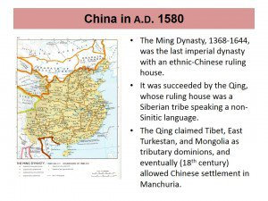 China In AD 1580