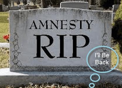 Amnesty RIP
