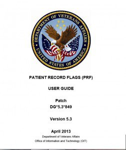 VA Patient Record Flags