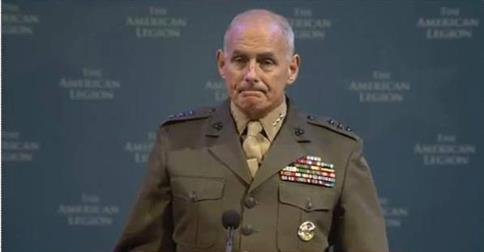 "Marine Corps General John Kelly, Head of U.S. Southern Command, Says Border Security an ""Existential"" Threat to the U.S. Main Stream Media Ignores Him"
