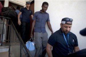 Sudanese deportee