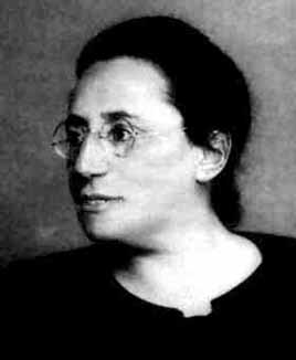 "Asked to affirm that Emmy was an example of a fine woman mathematician, colleague Edmund Landau said: ""I can testify that she is a fine mathematician, but that she is a woman, I cannot swear."""