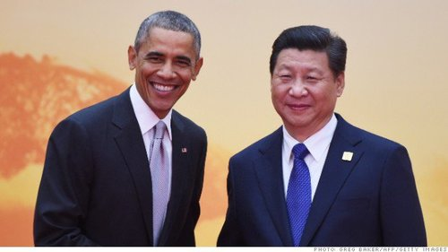 President Obama and Xi Jinping--one is an anti-American Marxist, the other is...President of China.