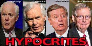 CornynCochranGrahamMcConnellHypocrites