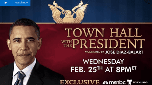 Obama's Miami Town Hall Meeting Appeals Directly To Illegal Aliens—WHERE IS GOP?