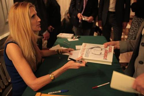 Ann coulter signs book fan 11