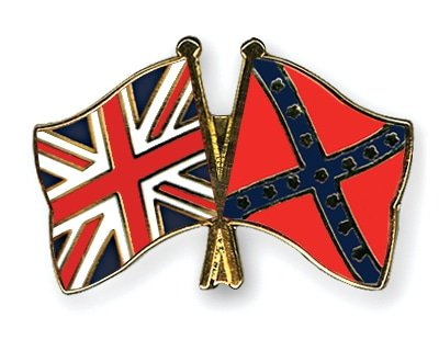 Flag pins great britain confederate battle1