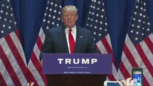 Rally being held in nh for presidential candidate donald trump