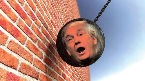 trumpwreckingball