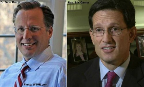 "Brat is popular with voters, Cantor with the ""donor class""."