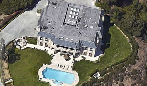 The Beverly Hills mansion where a Saudi prince has been accused of attacking at least three women and holding them captive for several days.