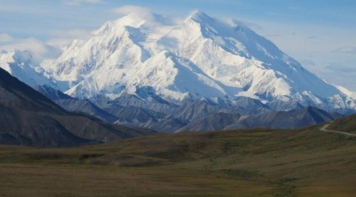 Obama changed the name of this mountain because it was named after a white man.