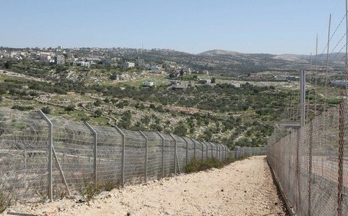 West Bank Wire Fence