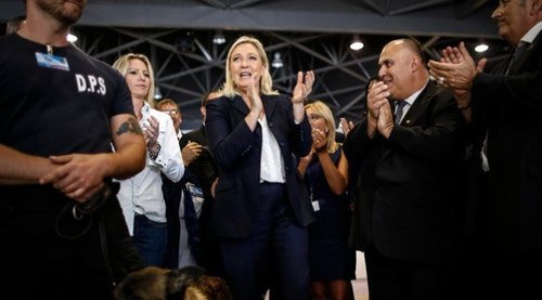 Marine Le Pen doesn't want France to be invaded--apparently that makes her a Nazi