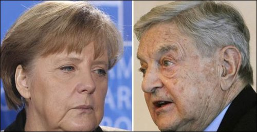Merkel and Soros: Could it be....?