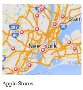 Apple Stores CAN'T actually be found in poor neighborhoods in New York