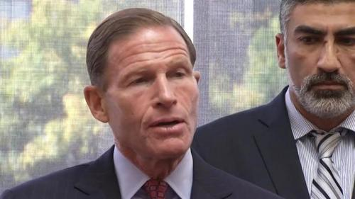 Senator Richard Blumenthal (D-CT)  and Mongi Dhaouadi, head of CAIR's CT Chapter both agree on less screening for US-bound  Syrians.