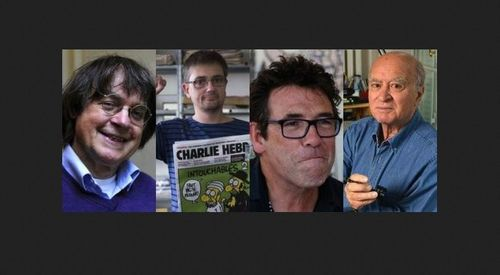 Charlie Hebdo  staff murdered by Muslim immigrants in Paris