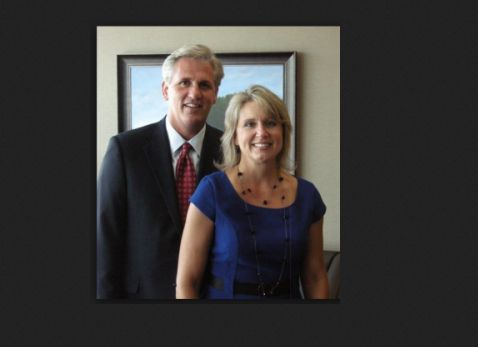 This picture of Renee Ellmers and Kevin McCarthy is from a January VDARE.com post.