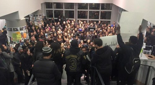 "Berry Library at Dartmouth: not a ""safe space"" for white students, assaulted by ""Black Lives Matter"" demonstrators"