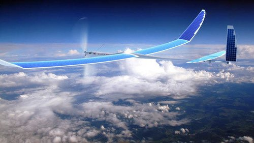 A solar-powered drone by Titan Aerospace. (Titan Aerospace photo)