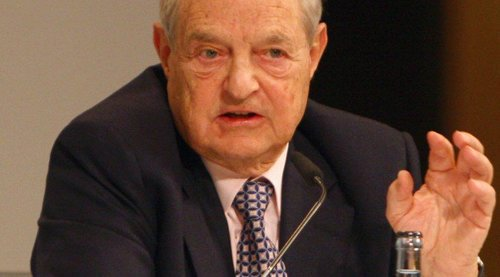 George Soros at the Munich Security Conference in 2011.