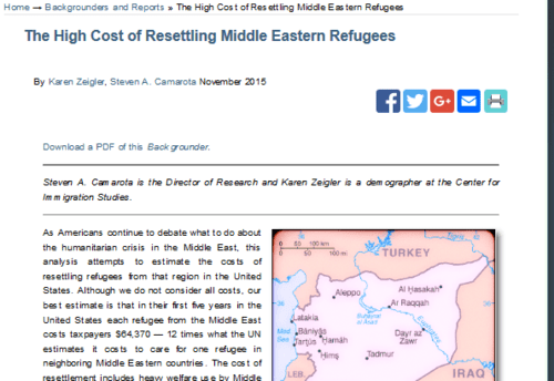 The high cost of resettling middle eastern refugees center for immigration studies   2015 12 20 00.10.09