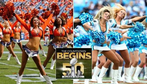 Super bowl 2016 hottest cheerleaders panthers vs broncos1