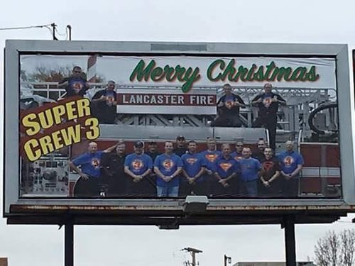 Merrychristmasfromthefiredepartment