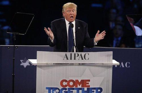 Donald trump aipac