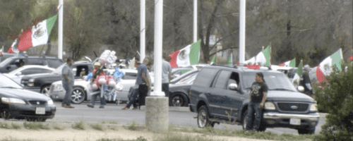 Trumprallymexicanflags
