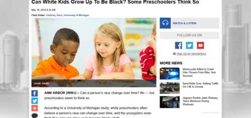 Can white kids grow up to be black some preschoolers think so « cbs detroit   2016 05 20 11.09.29