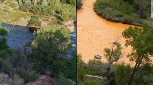Animas river durango 150811 before and after1 672x372