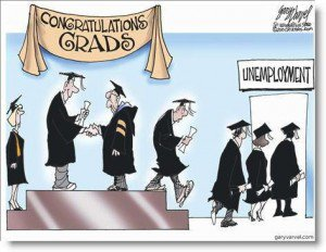 Cartoonunemploymentgrads 300x232