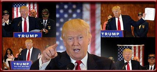 Trump presser montage