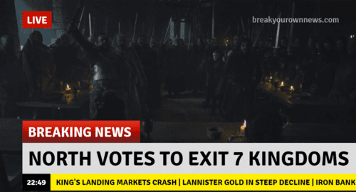 Game of thrones brexit