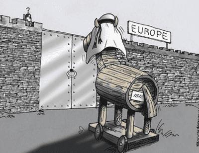 Muslim trojan horse