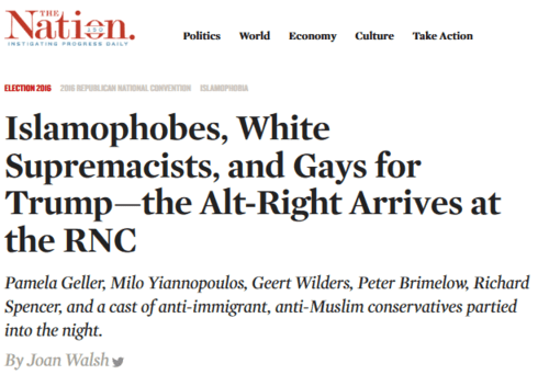 Islamophobes white supremacists and gays for trump—the alt right arrives at the rnc the nation   2016 07 26 10.04.21