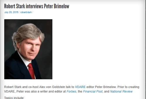 Robert stark interviews peter brimelow   the stark truth with robert stark   2016 07 30 13.16.40