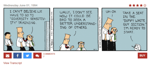 Search results for diversity sensitivity dilbert by scott adams   2016 07 31 23.19.46