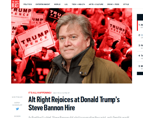 Alt right rejoices at donald trump's steve bannon hire   the daily beast   2016 08 18 11.45.08