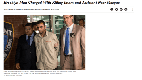 Brooklyn man charged with killing imam and assistant near mosque   the new york times   2016 08 16 11.15.41