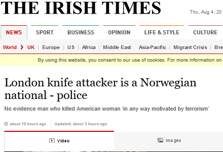 London knife attacker is a norwegian national   police   2016 08 04 11.34.40