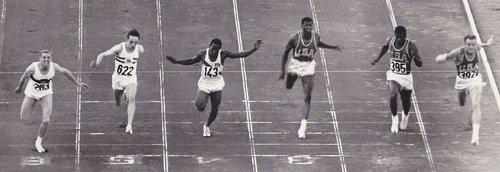 Men 100m final 1960 olympics