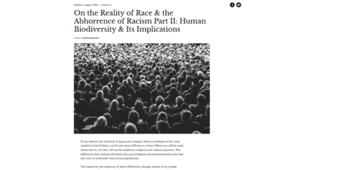 On the reality of race  the abhorrence of racism part ii human biodiversity  its implications quillette   2016 08 11 10.25.54